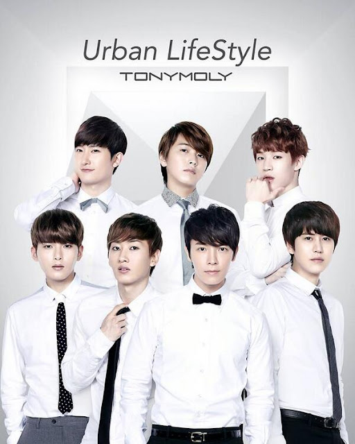 Image of Super Junior for Tony Moly - pinknomenal.blogspot.com