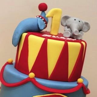 Cake design per bambini: la torta-circo