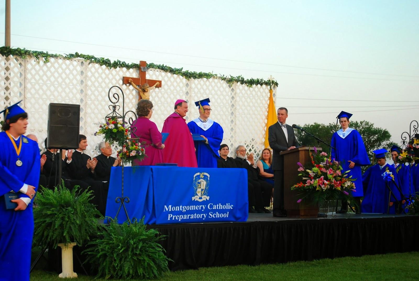Montgomery Catholic Preparatory School Celebrates the 139th Graduating Class: The Class of 2014 2