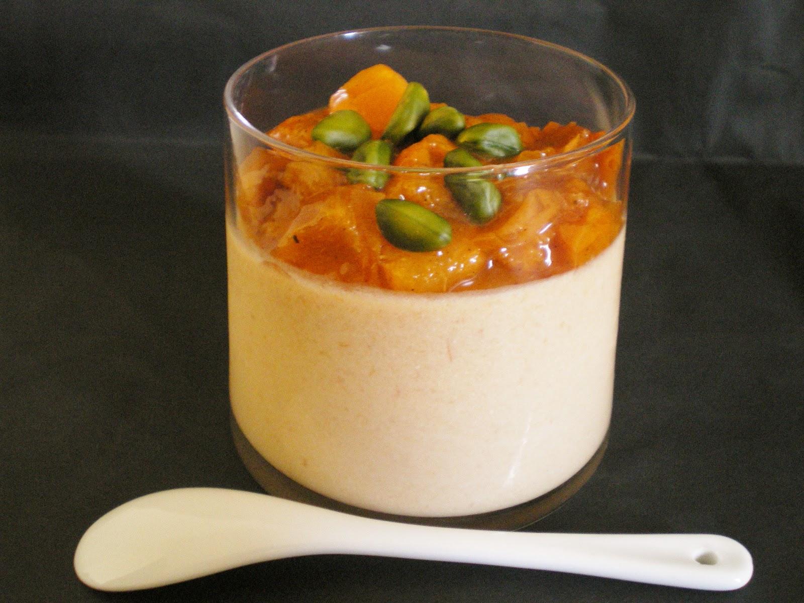 les mets tiss 201 s cuisine d ici et d ailleurs panna cotta abricots au lait de soja