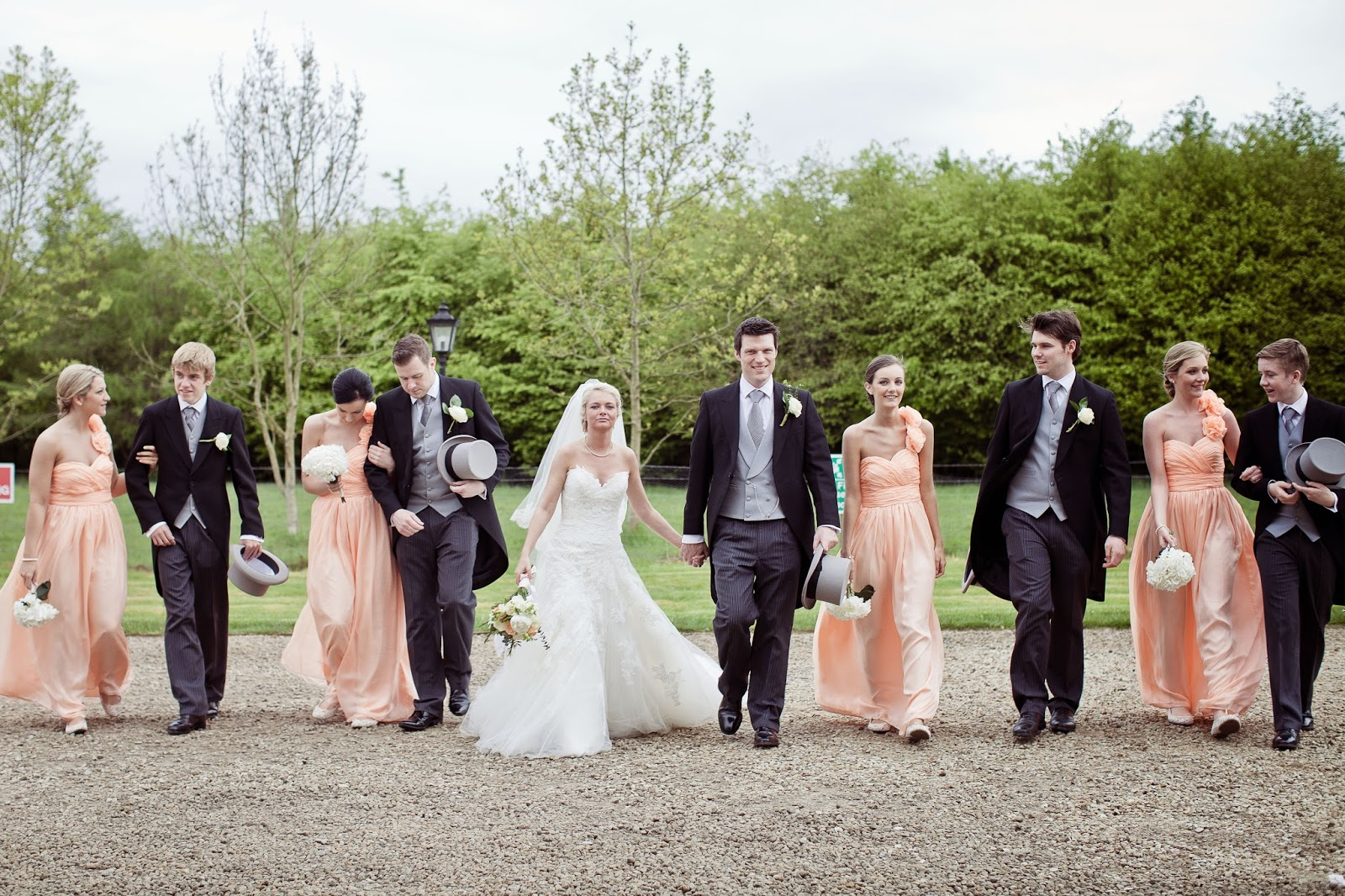 Lifes A Peachemmaleigh And Shanes Pastel Wedding At Middleton
