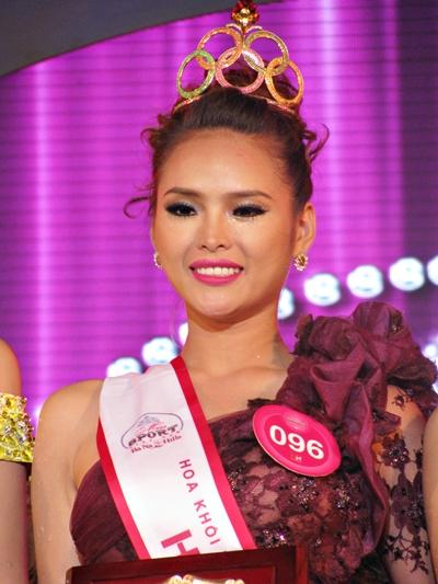 Miss World Vietnam 2013 winner Lai Huong Thao