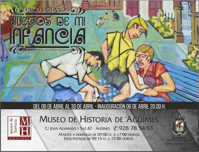 """Exposición """"Juegos de mi infancia"""""""