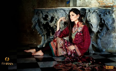 Firdous Party Wear Linen