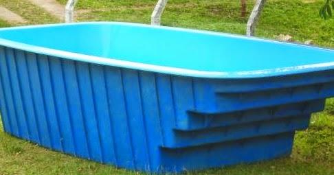 piscinas de fibra usadas a venda