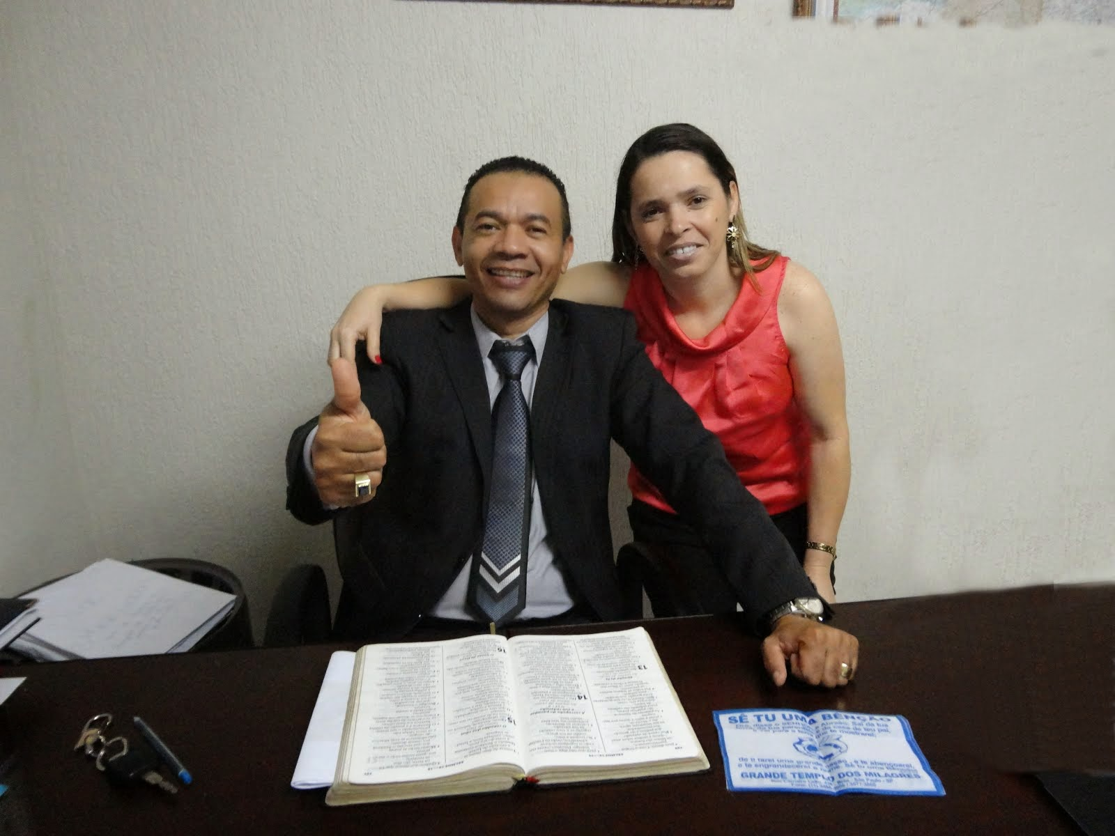 IMPD MÇU - Pastor Ernani Lima//Miss. Adriana Lima - 14/05/13 a 02/01/15