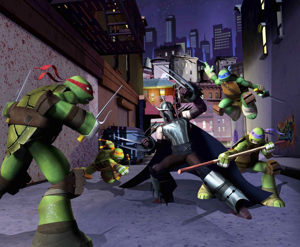 Review - Teenage Mutant Ninja Turtles (2012)