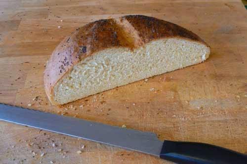 Half Eaten bread