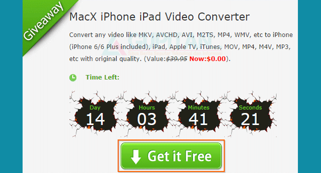 Download MacX IPhone Video Converter