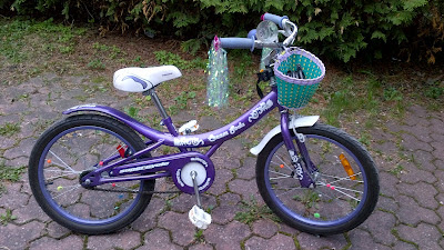 "DD's bike, Purple 20"" Cream Soda"