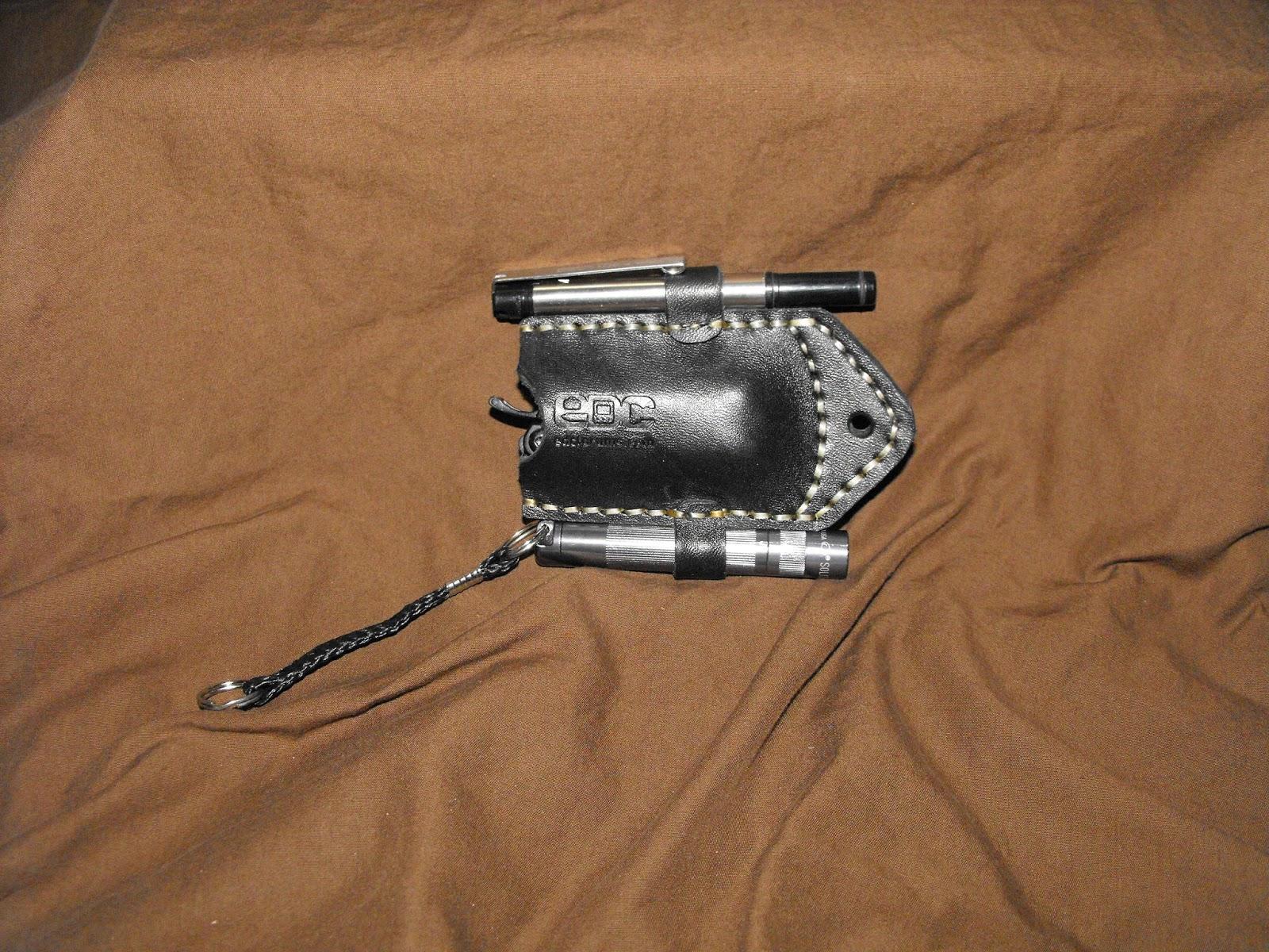 Elmore S Handmade Leathers And More Edc Pocket Organizer