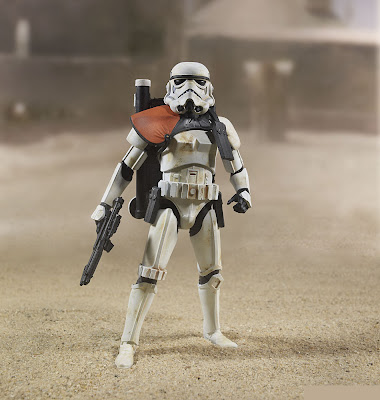 "Hasbro Star Wars The Black Series 6"" Sandtrooper figure"