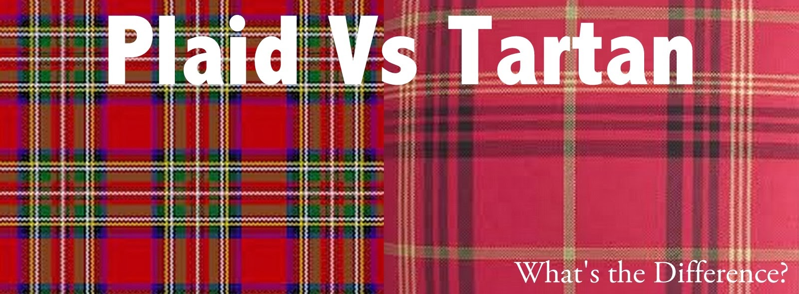 plaid vs tartan fashion