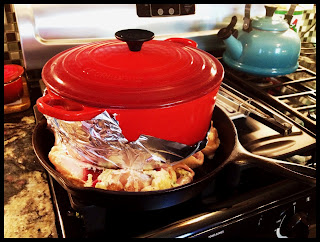 For instance, the large pot you're currently cooking your caponata in!