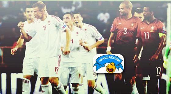 shqiperia fiton ndaj portugalise