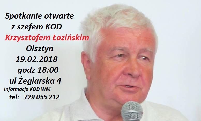 Spotkanie z Krzysztofem Łozińskim