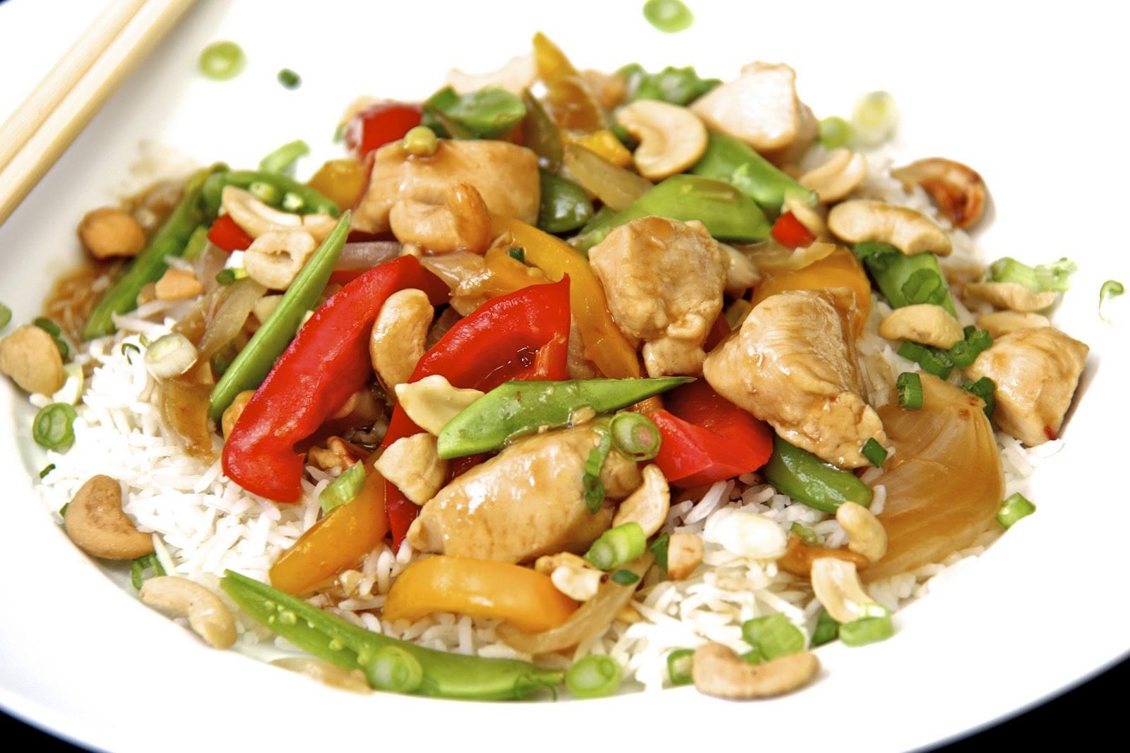 Cashew Ginger Chicken Stir Fry & a Secret Method for Perfect Basmati ...