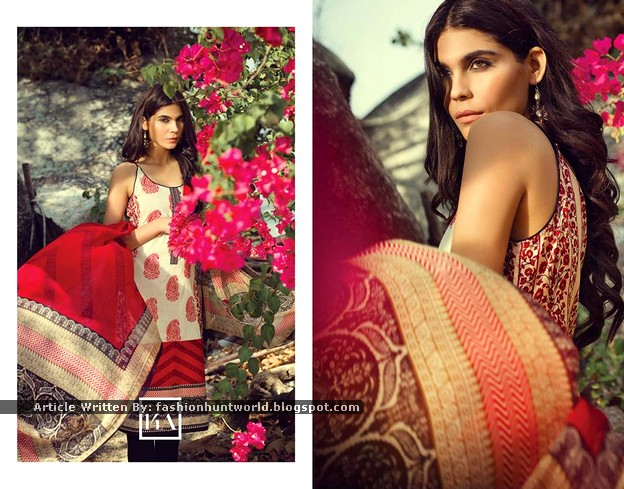 Sana Safinaz Summer Lawn 2015 - Look-Book