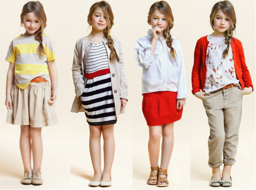 Modern Little Girls Dresses