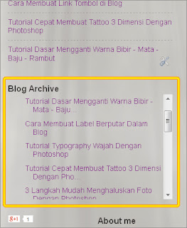 cara membuat scroll pada blog