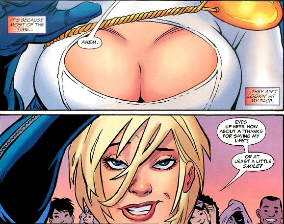 комиксы аниме грудь