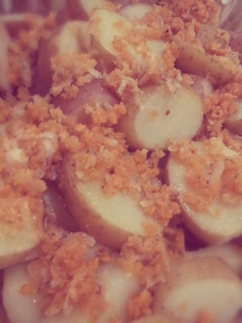 תפוחי אדמה בעיסה