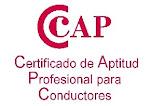 FORMACIÓN DE CONDUCTORES Certificado de Aptitud Profesional CAP