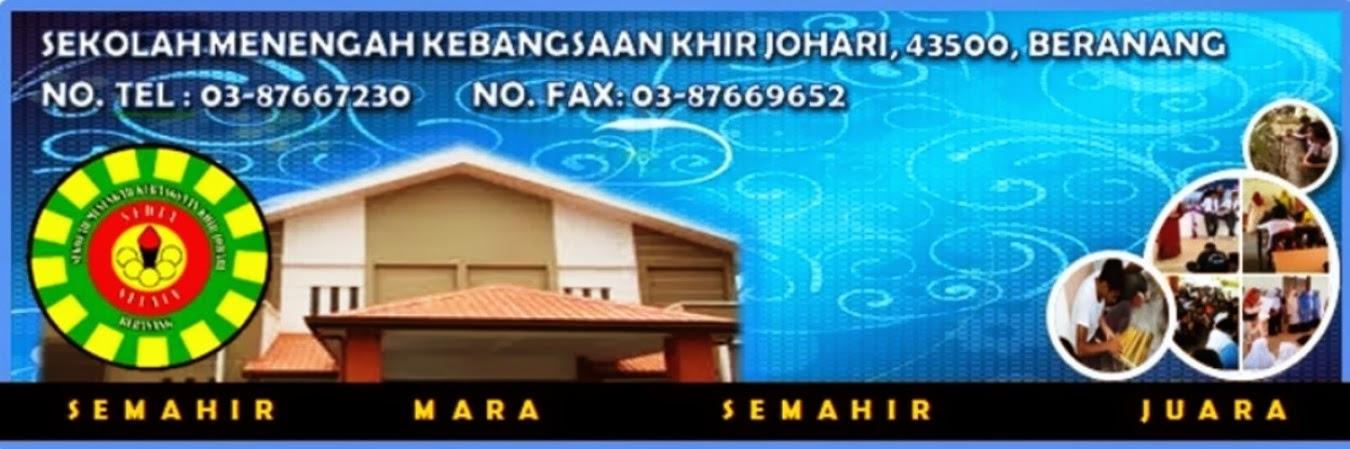SMK Khir Johari, Beranag