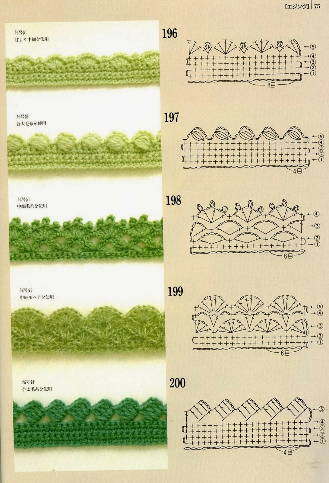 Как обвязать платочек крючком - Вязание