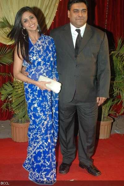 Ram Kapoor and Gautami Wedding