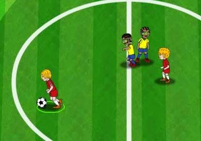 video igrica: fudbalske zvezde / soccer stars