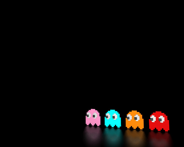 pacman classic arcade game