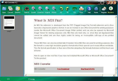 MDI Converter v4.3