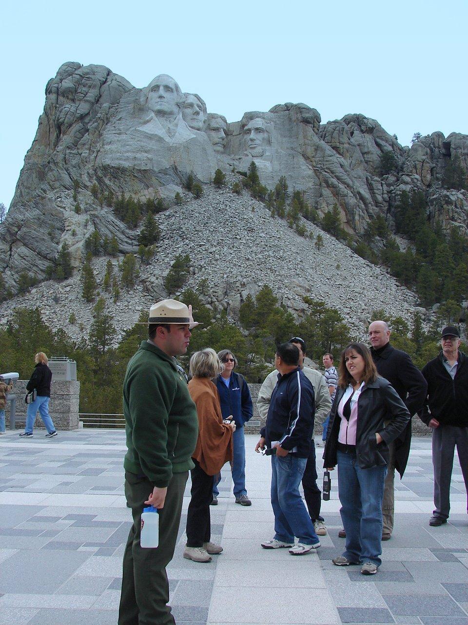 National Park Ranger Costume by a National Park Ranger