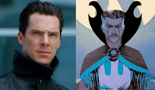 Benedict Cumberbath officially cast as Doctor Strange