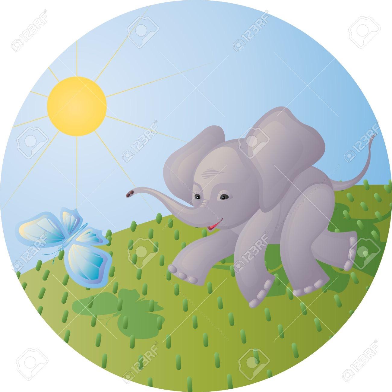 La mariposa y el elefante