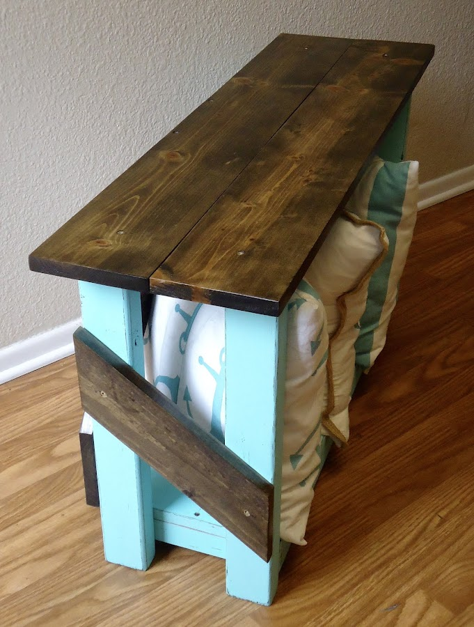 Distressed Bench - Available $175