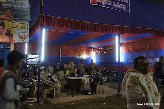 Police on Duty at Baliyatra Cuttack