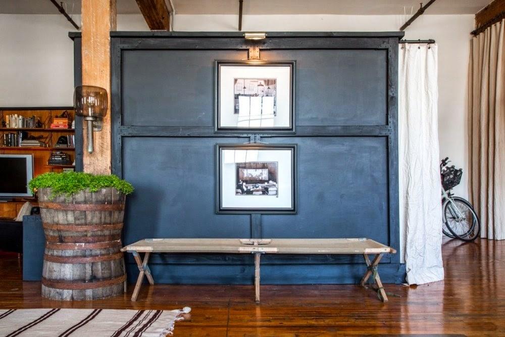 Leben und Wohnen im Loft - rustikal im Vintage-Design