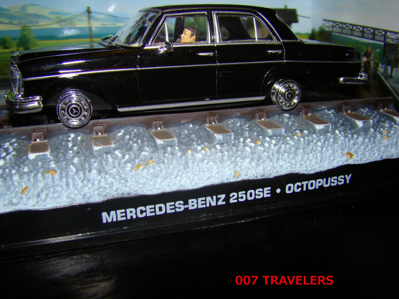 Eon Se Share Price >> 007 TRAVELERS: 007 Vehicle: Mercedes 250SE / Octopussy (1983)
