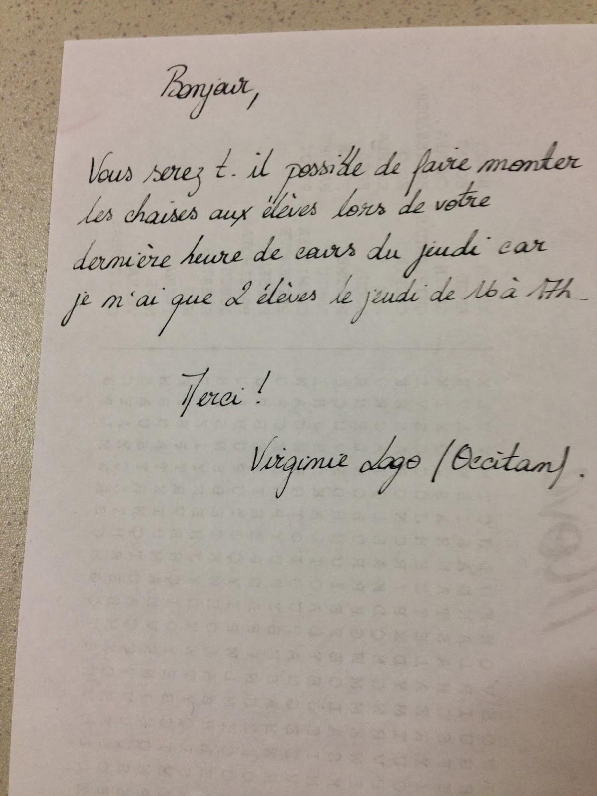 Meet Me In France Beautiful Handwriting