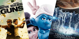 New movies Aug 2 - 2 Guns, Smurfs, Europa Report