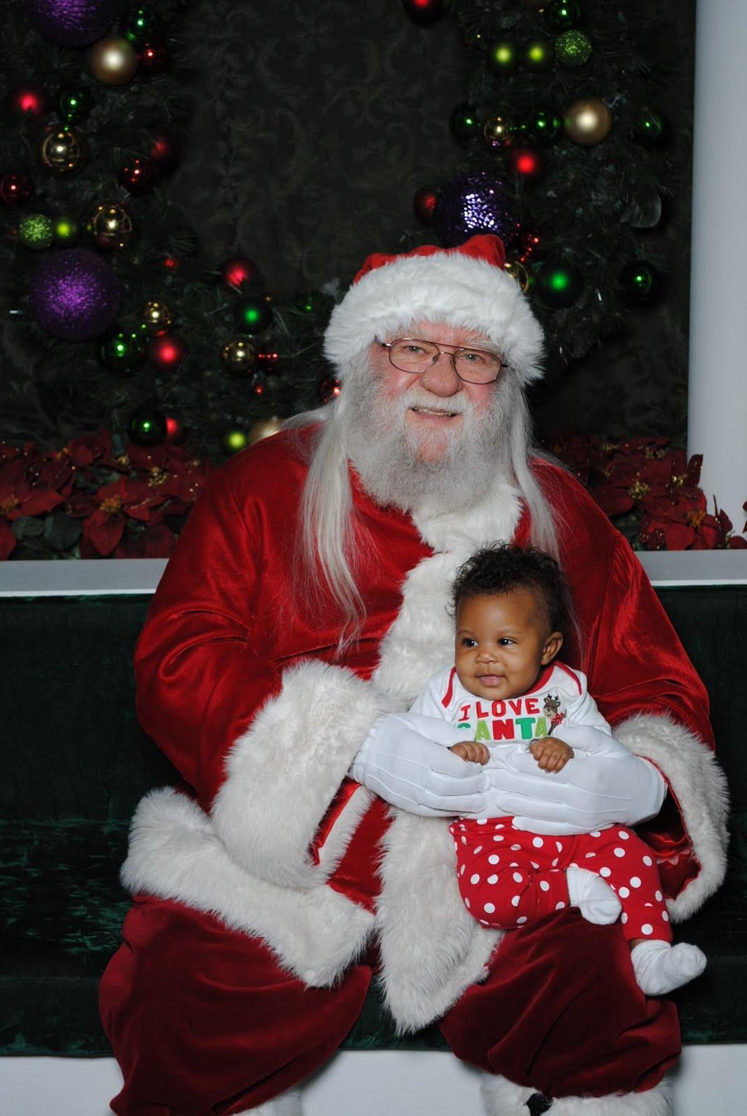 Santa claus is a black man curlynikki natural hair care