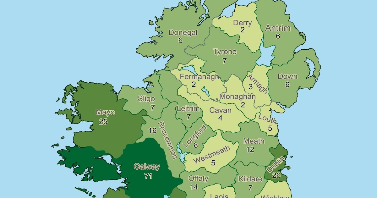 the geography and politics of ireland Here's a look at the geography of the irish in america  by eric ostermeier, who  runs the smart politics blog at the university of minnesota.