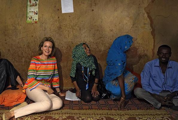 Queen Mathilde Of Belgium In Ethiopia, 4th Day