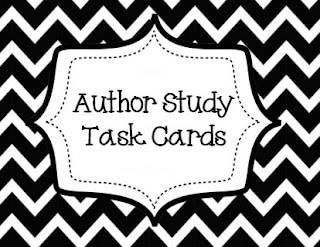 http://www.teacherspayteachers.com/Product/Author-Study-Task-Cards-990427