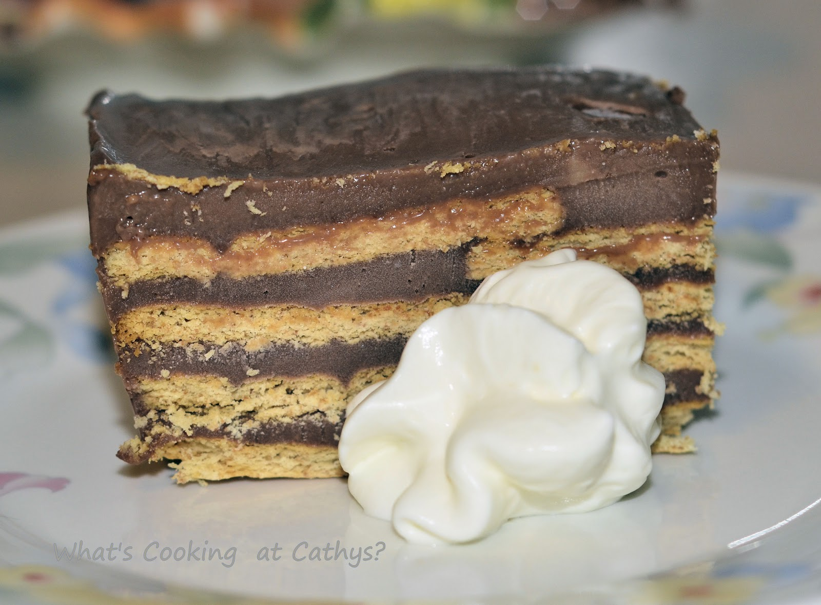 What's Cooking At Cathy's?: Nutella Ice Box Cake