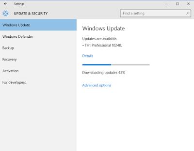 Akhirnya Microsoft Merilis Windows 10 Build 10240