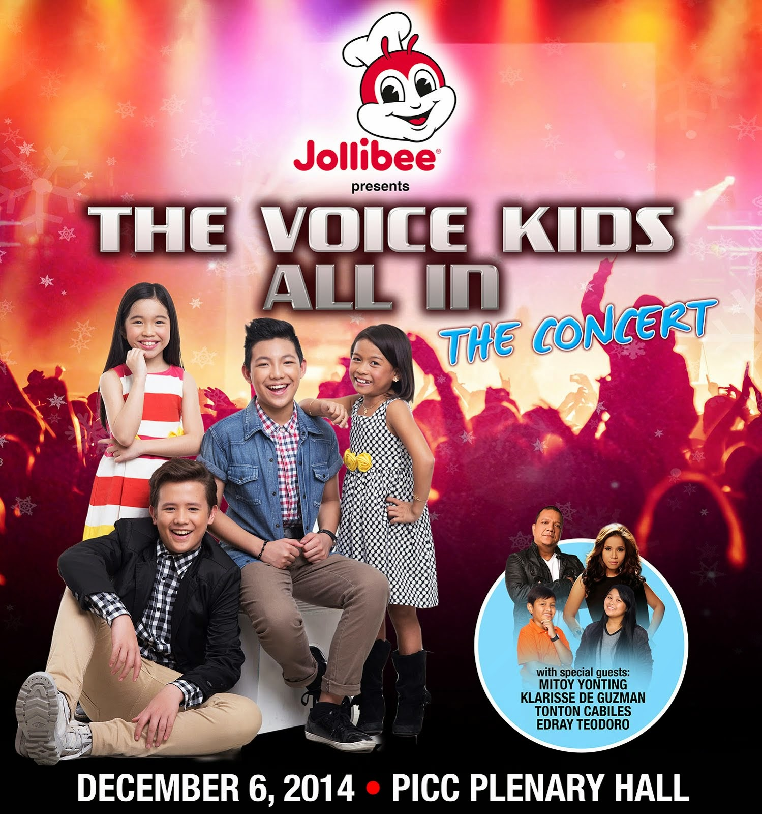 THE VOICE KIDS ALL IN CONCERT