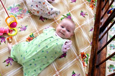 Фото Укринформ: Ванечка без рук и ног